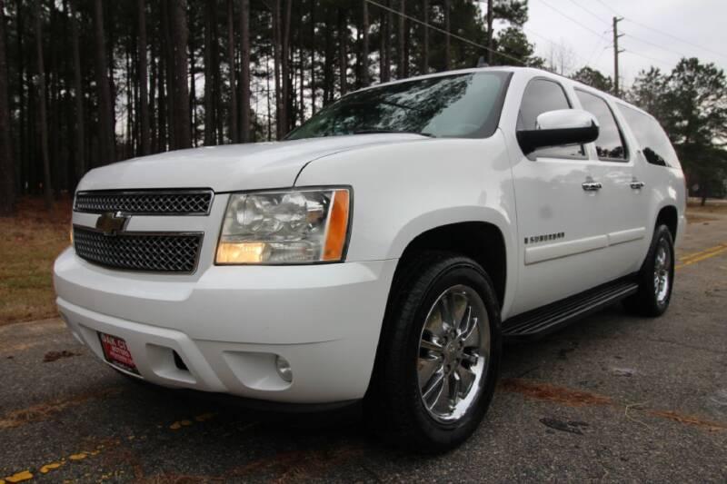 2007 Chevrolet Suburban for sale at Oak City Motors in Garner NC