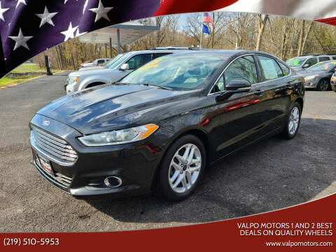 2015 Ford Fusion for sale at Valpo Motors 1 and 2  Best Deals On Quality Wheels in Valparaiso IN