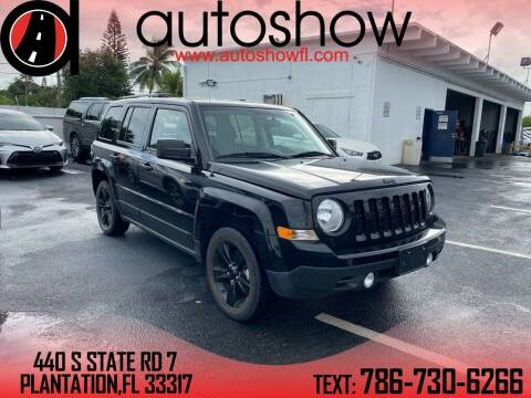 2015 Jeep Patriot for sale at AUTOSHOW SALES & SERVICE in Plantation FL