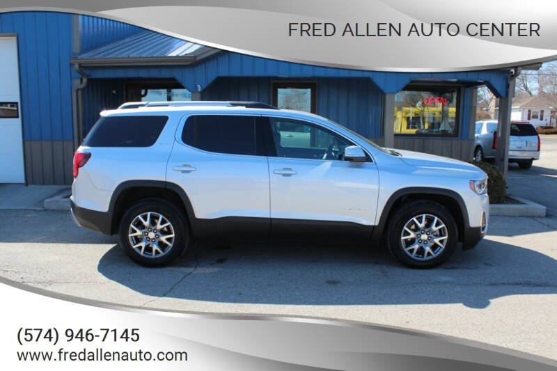 2020 GMC Acadia for sale at Fred Allen Auto Center in Winamac IN