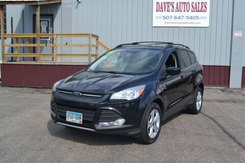 2013 Ford Escape for sale at Dave's Auto Sales in Winthrop MN