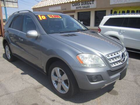 2010 Mercedes-Benz M-Class for sale at Cars Direct USA in Las Vegas NV