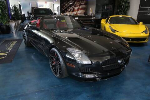 2012 Mercedes-Benz SLS AMG for sale at OC Autosource in Costa Mesa CA
