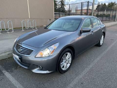 2011 Infiniti G37 Sedan for sale at Washington Auto Loan House in Seattle WA