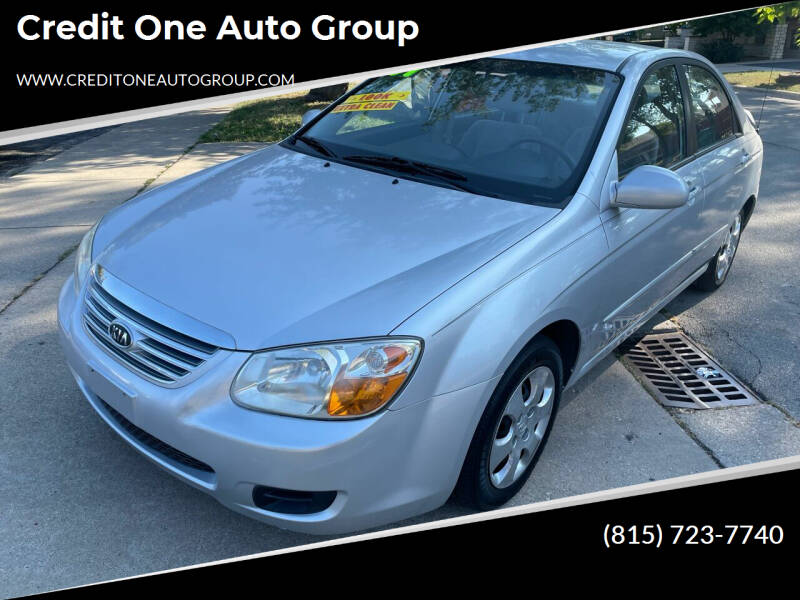 2007 Kia Spectra for sale at Credit One Auto Group in Joliet IL