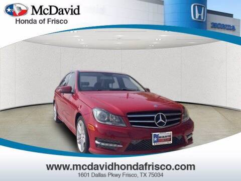 2014 Mercedes-Benz C-Class for sale at DAVID McDAVID HONDA OF IRVING in Irving TX