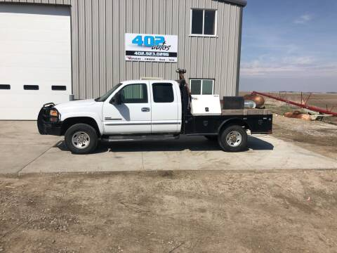 2003 GMC Sierra 2500HD for sale at 402 Autos in Lindsay NE