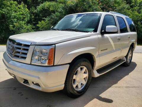 2002 Cadillac Escalade for sale at Marks and Son Used Cars in Athens GA