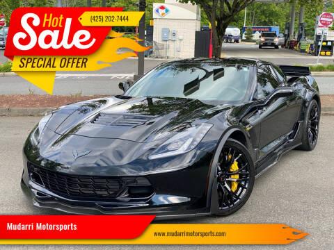 2016 Chevrolet Corvette for sale at Mudarri Motorsports in Kirkland WA