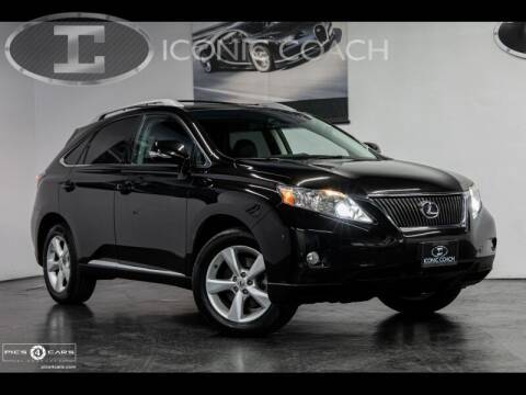 2011 Lexus RX 350 for sale at Iconic Coach in San Diego CA