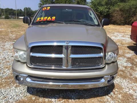 2002 Dodge Ram Pickup 1500 for sale at K & E Auto Sales in Ardmore AL