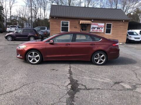 2014 Ford Fusion for sale at Super Cars Direct in Kernersville NC