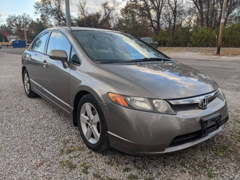 2007 Honda Civic for sale at AUTO PROS SALES AND SERVICE in Belleville IL
