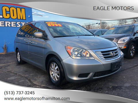 2010 Honda Odyssey for sale at Eagle Motors in Hamilton OH