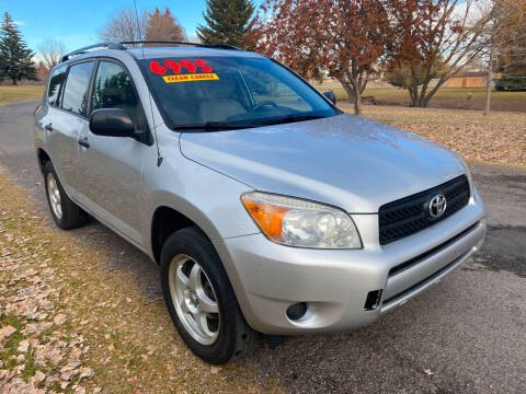 2008 Toyota RAV4 for sale at BELOW BOOK AUTO SALES in Idaho Falls ID
