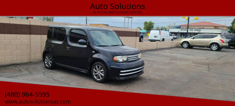 2010 Nissan cube for sale at Auto Solutions in Mesa AZ