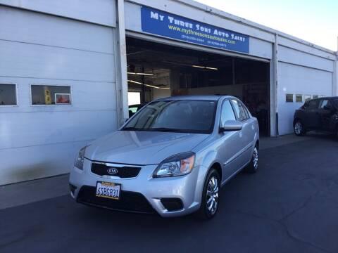 2011 Kia Rio for sale at My Three Sons Auto Sales in Sacramento CA