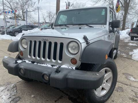 2011 Jeep Wrangler Unlimited for sale at Best Cars R Us in Plainfield NJ