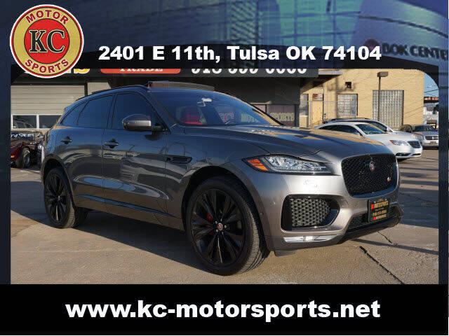 2018 Jaguar F-PACE for sale at KC MOTORSPORTS in Tulsa OK