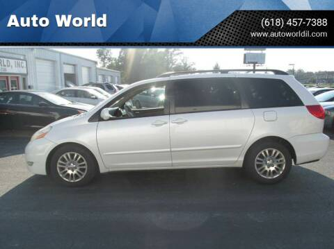 2007 Toyota Sienna for sale at Auto World in Carbondale IL
