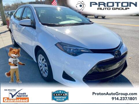 2019 Toyota Corolla for sale at Proton Auto Group in Yonkers NY
