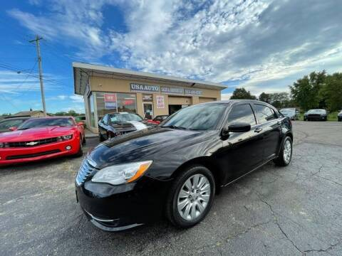 2014 Chrysler 200 for sale at USA Auto Sales & Services, LLC in Mason OH