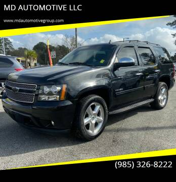 2012 Chevrolet Tahoe for sale at MD AUTOMOTIVE LLC in Slidell LA