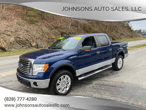 2011 Ford F-150 for sale at Johnsons Auto Sales, LLC in Marshall NC