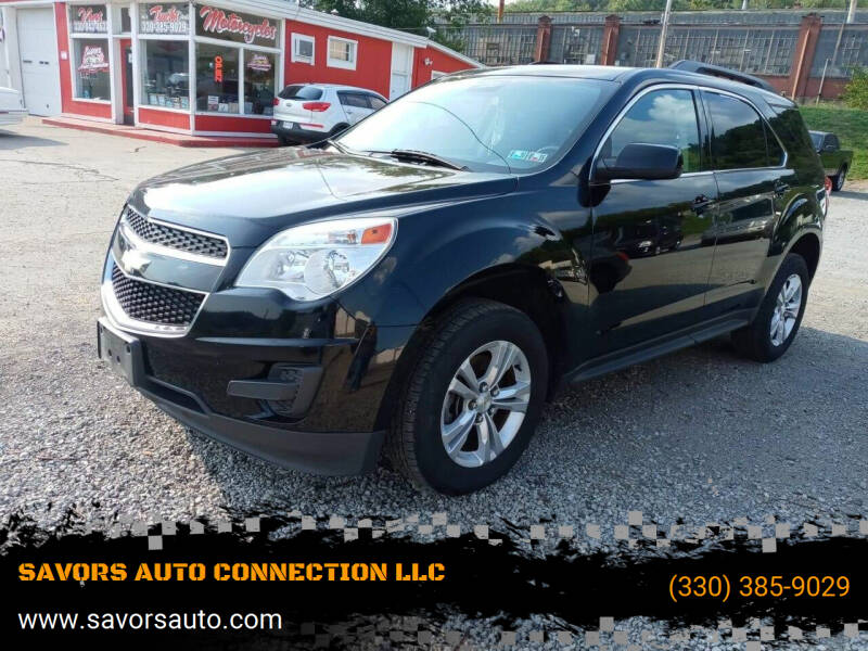 2014 Chevrolet Equinox for sale at SAVORS AUTO CONNECTION LLC in East Liverpool OH