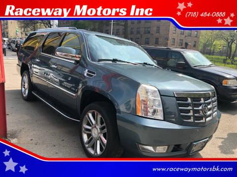 2008 Cadillac Escalade ESV for sale at Raceway Motors Inc in Brooklyn NY