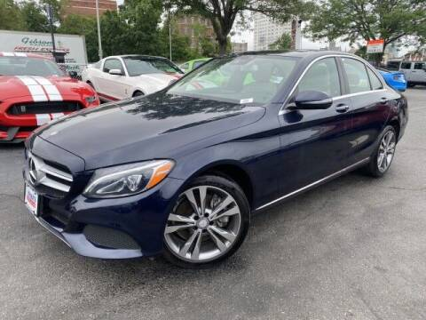 2017 Mercedes-Benz C-Class for sale at Sonias Auto Sales in Worcester MA