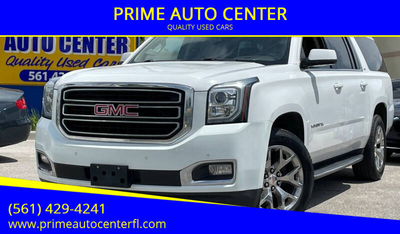2016 GMC Yukon XL for sale at PRIME AUTO CENTER in Palm Springs FL