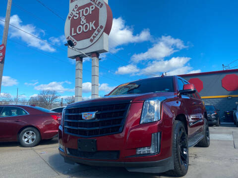 2016 Cadillac Escalade for sale at Matthew's Stop & Look Auto Sales in Detroit MI