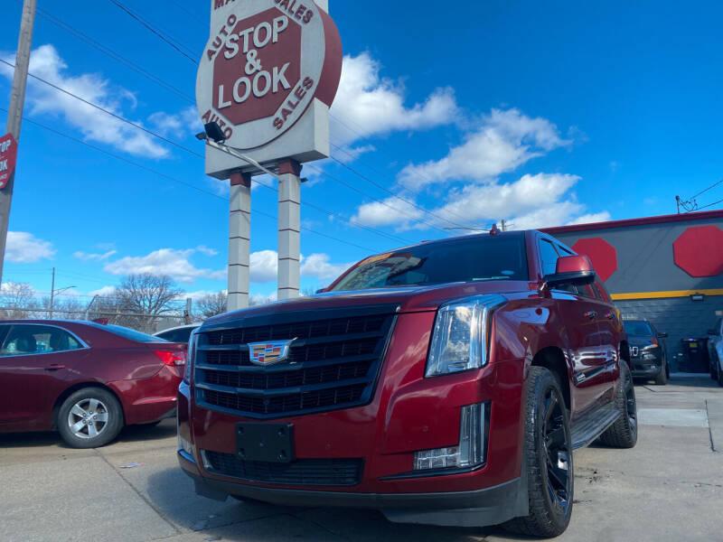 2016 Cadillac Escalade for sale at Matthew's Stop & Look Auto Sales in Detroit MI