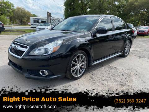 2013 Subaru Legacy for sale at Right Price Auto Sales in Waldo FL