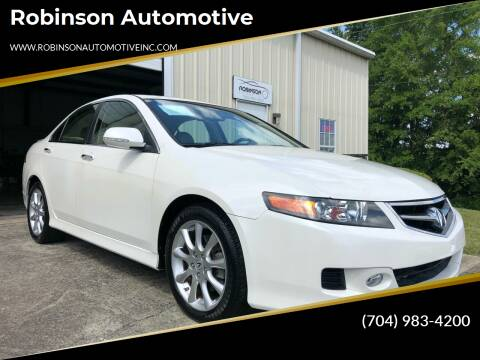 2007 Acura TSX for sale at Robinson Automotive in Albemarle NC