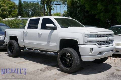 2016 Chevrolet Silverado 1500 for sale at Michael's Auto Sales Corp in Hollywood FL