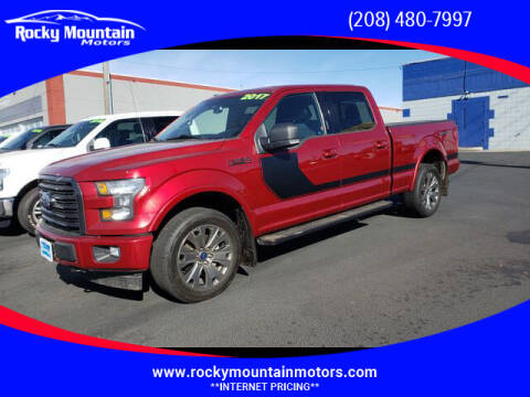 2017 Ford F-150 for sale at Rocky Mountain Motors in Idaho Falls ID