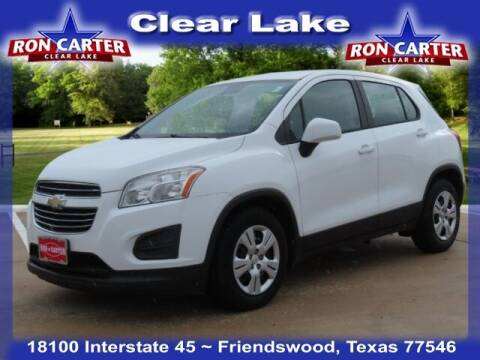 2015 Chevrolet Trax for sale at Ron Carter  Clear Lake Used Cars in Houston TX
