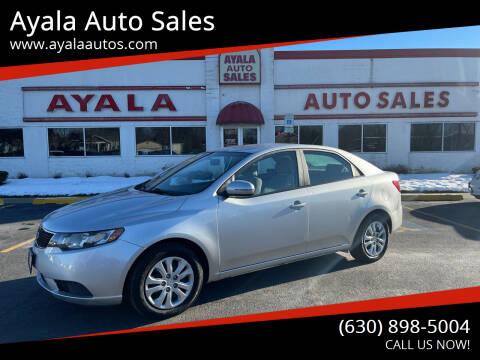 2013 Kia Forte for sale at Ayala Auto Sales in Aurora IL