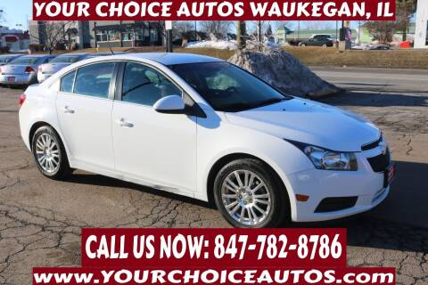 2014 Chevrolet Cruze for sale at Your Choice Autos - Waukegan in Waukegan IL
