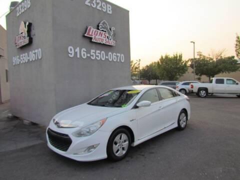 2011 Hyundai Sonata Hybrid for sale at LIONS AUTO SALES in Sacramento CA