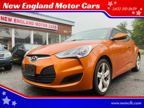 2012 Hyundai Veloster for sale at New England Motor Cars in Springfield MA