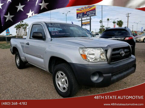 2006 Toyota Tacoma for sale at 48TH STATE AUTOMOTIVE in Mesa AZ