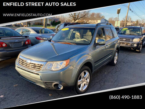 2009 Subaru Forester for sale at ENFIELD STREET AUTO SALES in Enfield CT