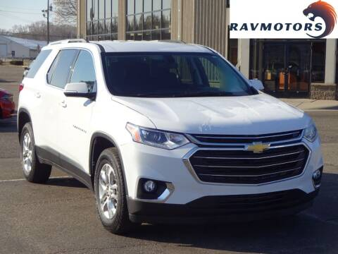 2018 Chevrolet Traverse for sale at RAVMOTORS 2 in Crystal MN