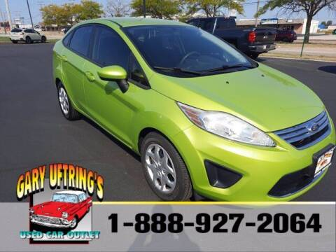 2012 Ford Fiesta for sale at Gary Uftring's Used Car Outlet in Washington IL