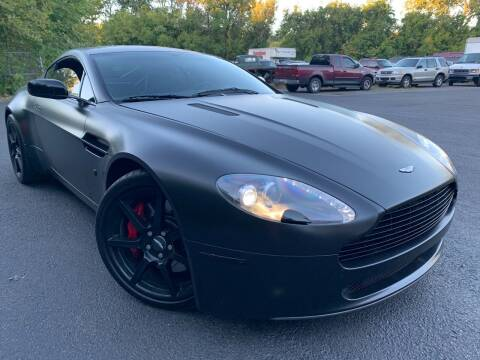2007 Aston Martin V8 Vantage for sale at Trocci's Auto Sales in West Pittsburg PA