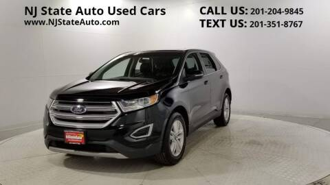 2017 Ford Edge for sale at NJ State Auto Auction in Jersey City NJ