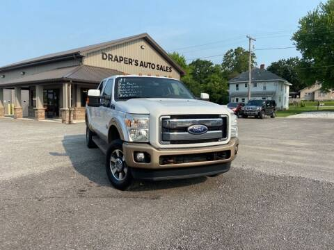 2011 Ford F-350 Super Duty for sale at Drapers Auto Sales in Peru IN